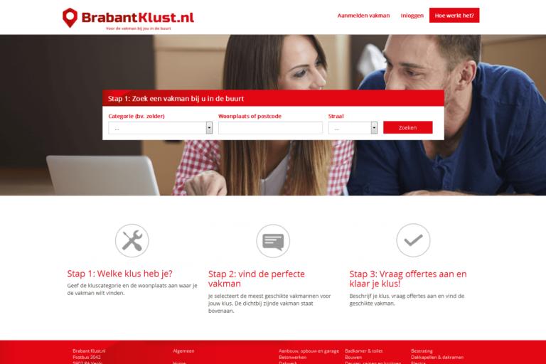 Brabant klust website