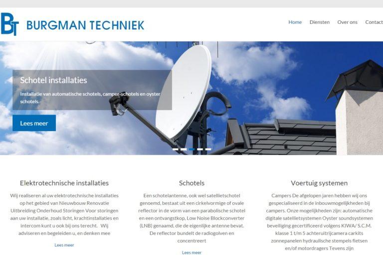Burgman techniek website