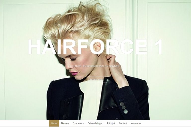hairforce 1 website