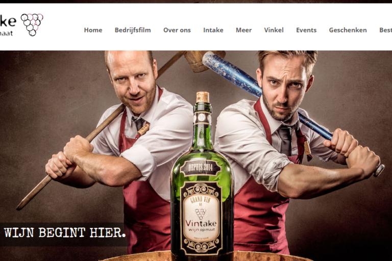 Portfolio: Vintake - Wijn op maat!