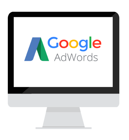 computer met google adwords