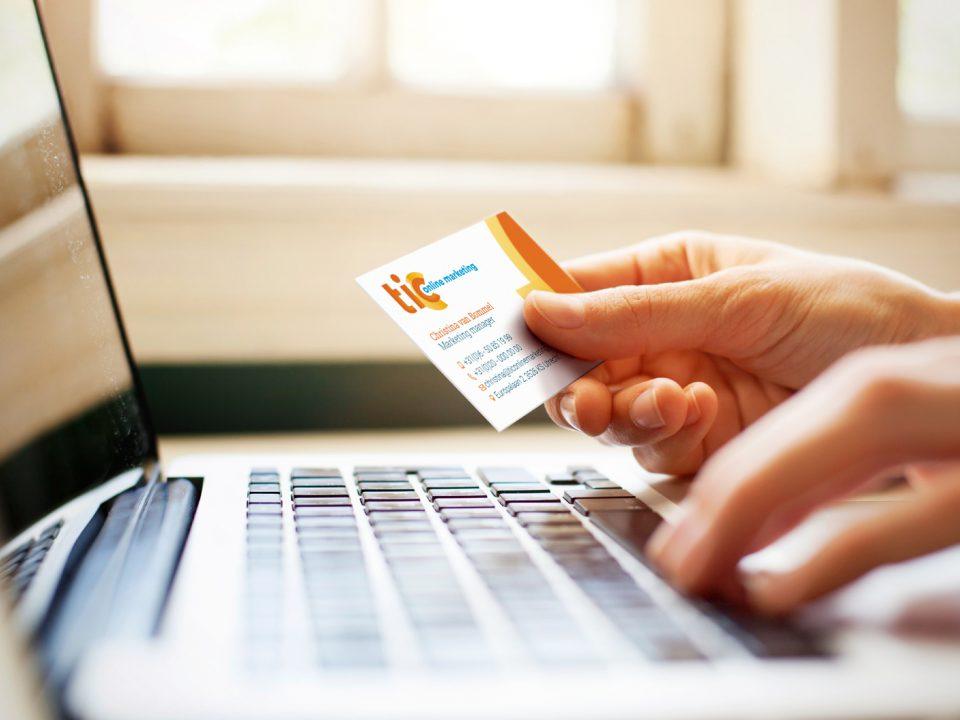 Visitekaartje TIC Online Marketing