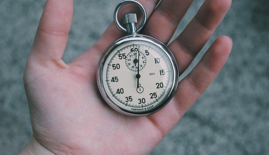 klok laadtijd