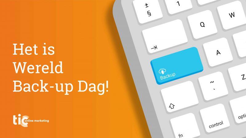 Wereld Back-up Dag: Maak back-ups om je bestanden te beschermen