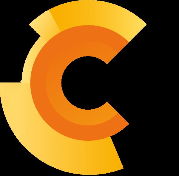 Draaiend logo van TIC Online Marketing