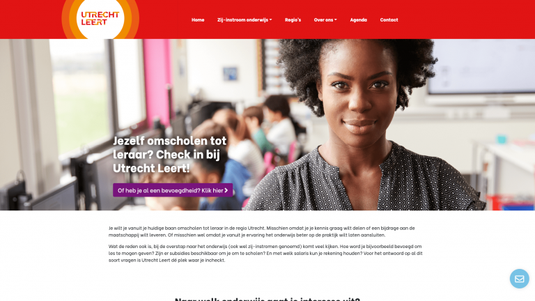 Website Utrecht Leert